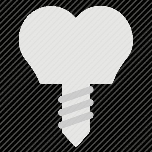 Dental implant, dental treatment, denture, oral surgery icon - Download on Iconfinder