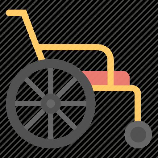 disability, handicap, paraplegic, patient chair, wheelchair icon