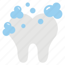 clean tooth, dental care, healthy tooth, tooth hygiene, tooth whitening icon