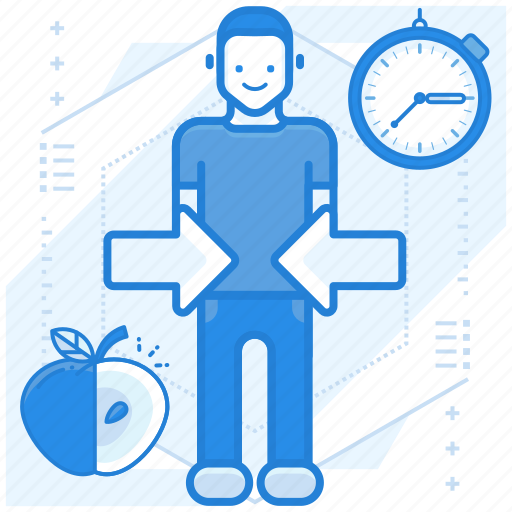 diet, program, weight loss icon