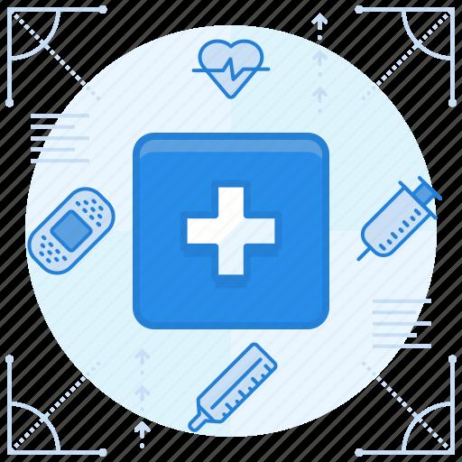 emergency, health, medical icon