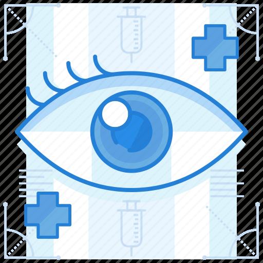 eye, problem, vision icon