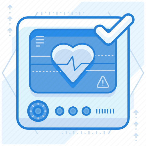 heart, monitor, rate icon