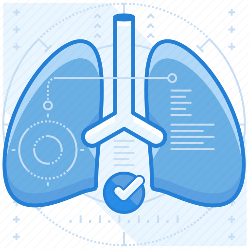 breathing, health, lungs, problems icon