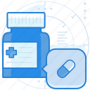 medication, medicine, pill icon