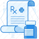 pharmacy, prescription, rx icon