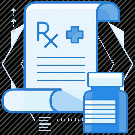 pharmacy, prescription, rx icon