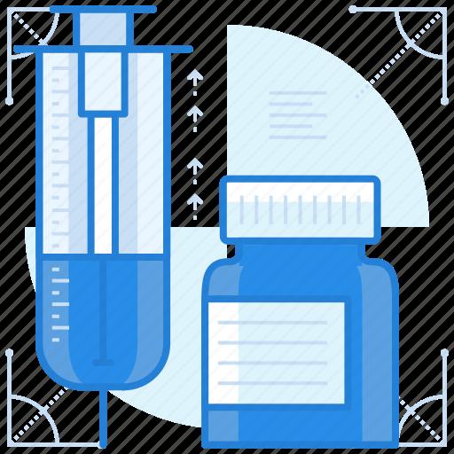 medication, medicine, shots, syringe icon