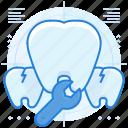 dental, dentist, problem, teeth icon