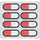 drugs, medical pills, capsule, tablets, medicines icon