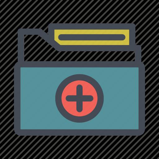 Care, folder, health, hospital, medical, medicine icon - Download on Iconfinder