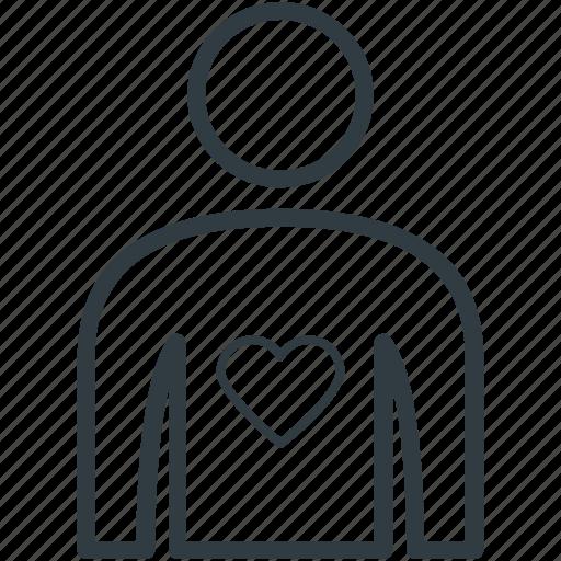heart, heart disease, heart patient, heart problem, human heart icon