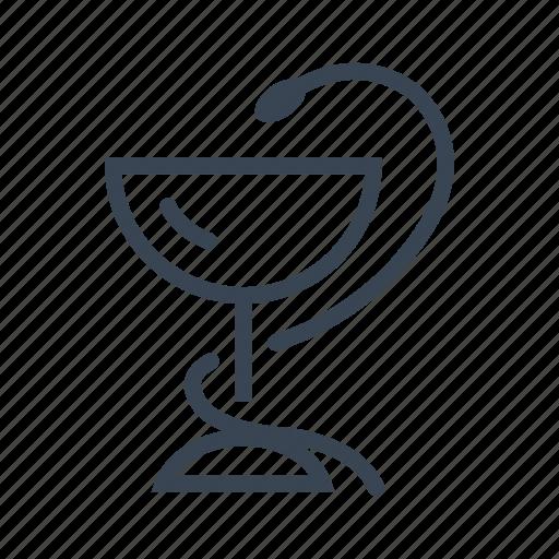 Caduceus, medical, medicine, pharmacy, snake icon - Download on Iconfinder