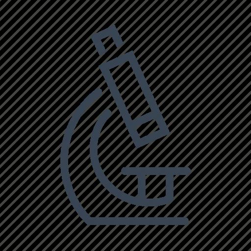 laboratory, medical, medicine, microscope, research, science icon
