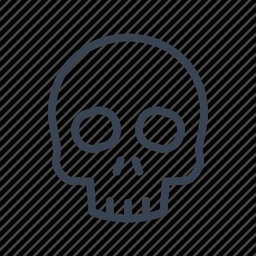 Death, skeleton, skull icon - Download on Iconfinder