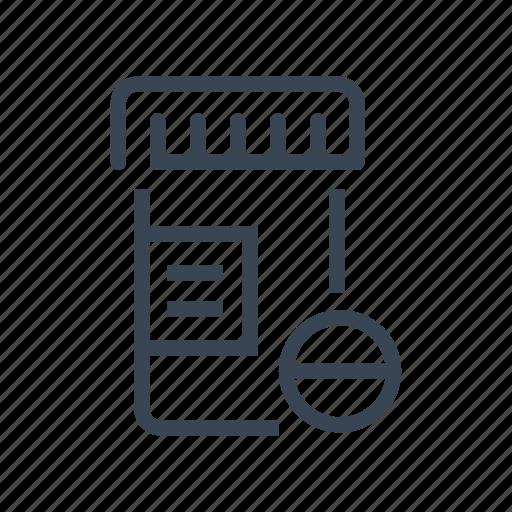 Bottle, drugs, medical, medicine, pills, prescription icon - Download on Iconfinder