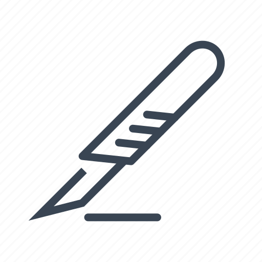 Medical, medicine, scalpel, surgery icon - Download on Iconfinder