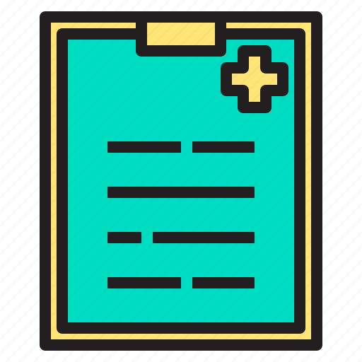 body, clipboard, doctor, health, heart, hospital icon