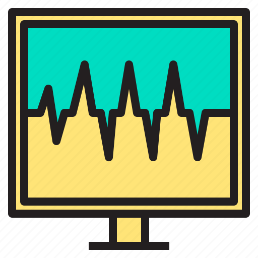 body, computer, doctor, health, heart, hospital, scanner icon