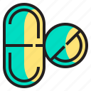 body, doctor, health, healthcare, hospital, medical, pills icon