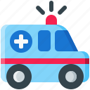 ambulance, emergency, medical, medicine, truck, vehicle icon