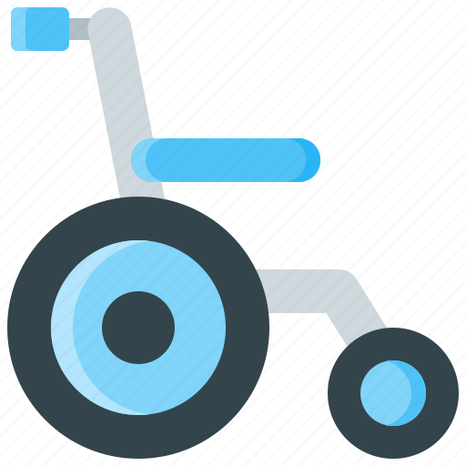 chair, disable, disabled, handicap, handicapped, wheelchair icon