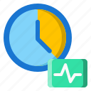 beat, clock, frequency, timer icon