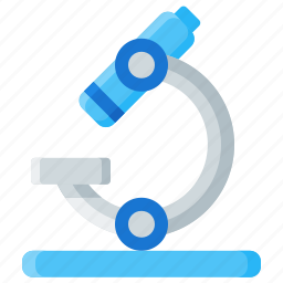 equipment, experiment, lab, microscope, research, science icon