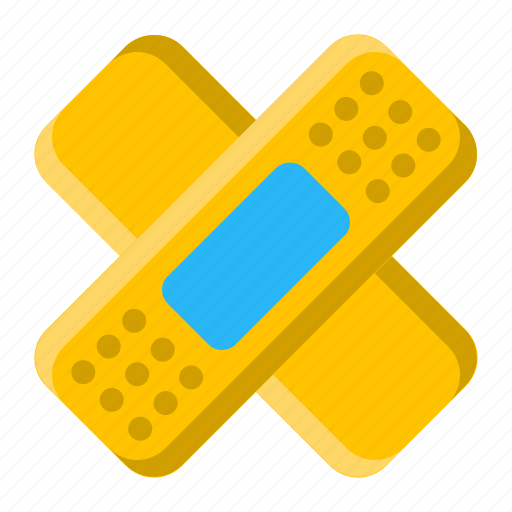 aid, band, bandage, care, first, medical, plaster icon
