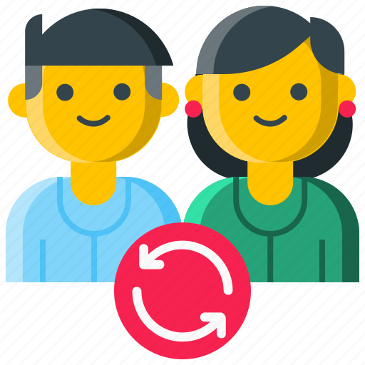 doctor, job rotation, physician, rotation, shift, shift work icon
