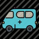 medical, car, emergency, hospital, ambulance