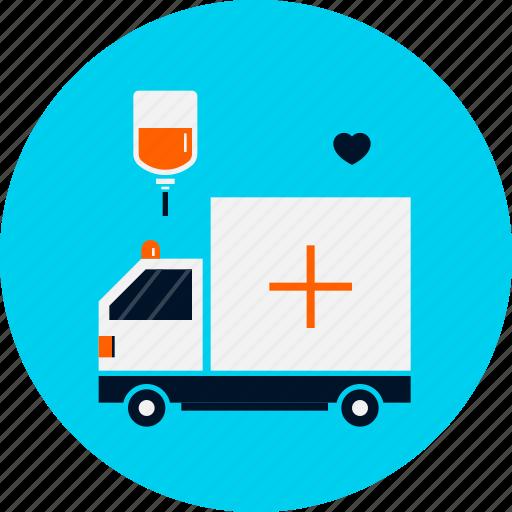 Ambulance, ambulance icon, emergency, health, medical, treatment icon - Download on Iconfinder