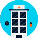 center, health, hospital, hospital icon, medical, nursing, nursing home
