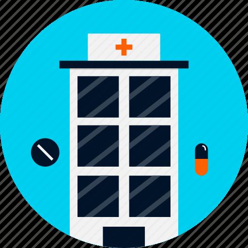 center, health, hospital, hospital icon, medical, nursing, nursing home icon