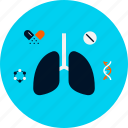chest, health, lungs, lungs icon, medical, medicinal, medicine icon