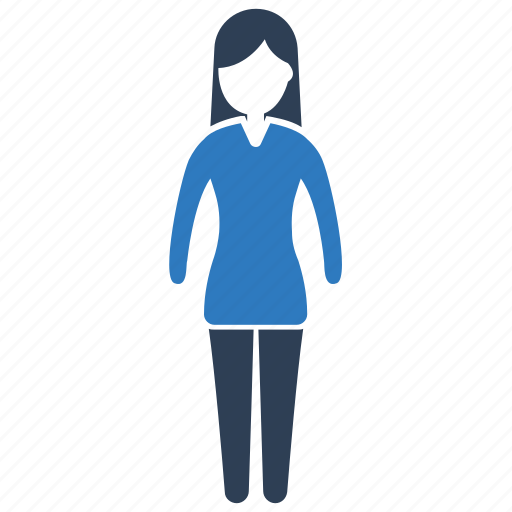 Female, girl, lady, person, woman icon - Download on Iconfinder