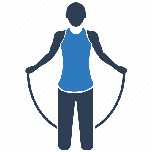 exercise, rope, skipping, skipping rope, sport icon