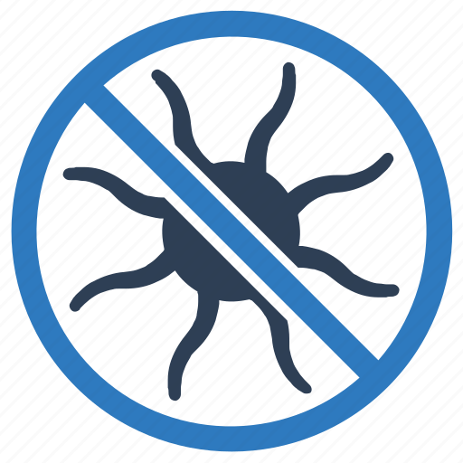 anti, bacteria, infection, protection, virus icon
