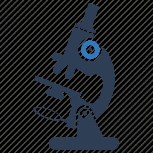 experiment, investigation, laboratory, microscope, research icon