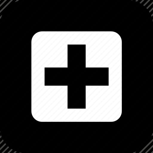 Cross, er, healthcare, hospital, medecine, medical, sign icon - Download on Iconfinder