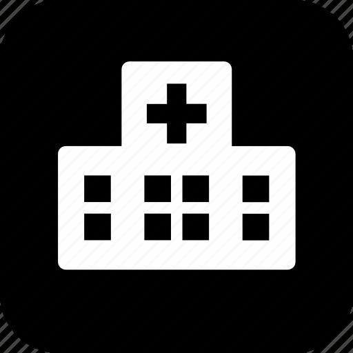 building, emergency room, er, healthcare, hospital, medecine, medical icon