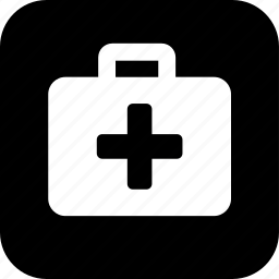 first aid, healthcare, medecine, medical, medical cross, suitcase icon