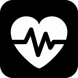 cardiogram, healthcare, heart, heart rate, medecine, medical icon