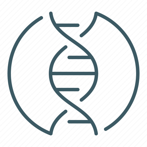 Dna, genetics, helix, science icon - Download on Iconfinder