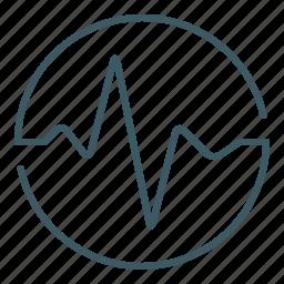 heartbeat, life, pulse, resurrection, revive icon