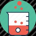beaker, glass beaker, lab beaker, lab instruments, lab test, laboratory equipment, measuring cup icon