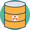 barrel, barrel container, crude, oil barrel, oil container, petroleum, toxic barrel icon