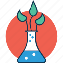 agriculture test, botany experiment, lab experiment, medical experiment, plant research, science project, science test icon