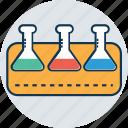 beaker, lab test, lab testing, laboratory equipment, science lab instruments, test tube icon