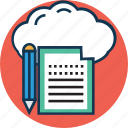 cloud sheet, cloud stationary, diet chart, medical report, medications, medicine chart, prescription icon